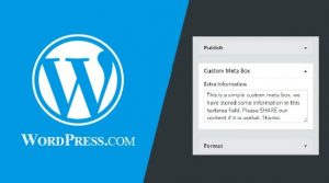 How to Create Custom Meta Boxes In WordPress